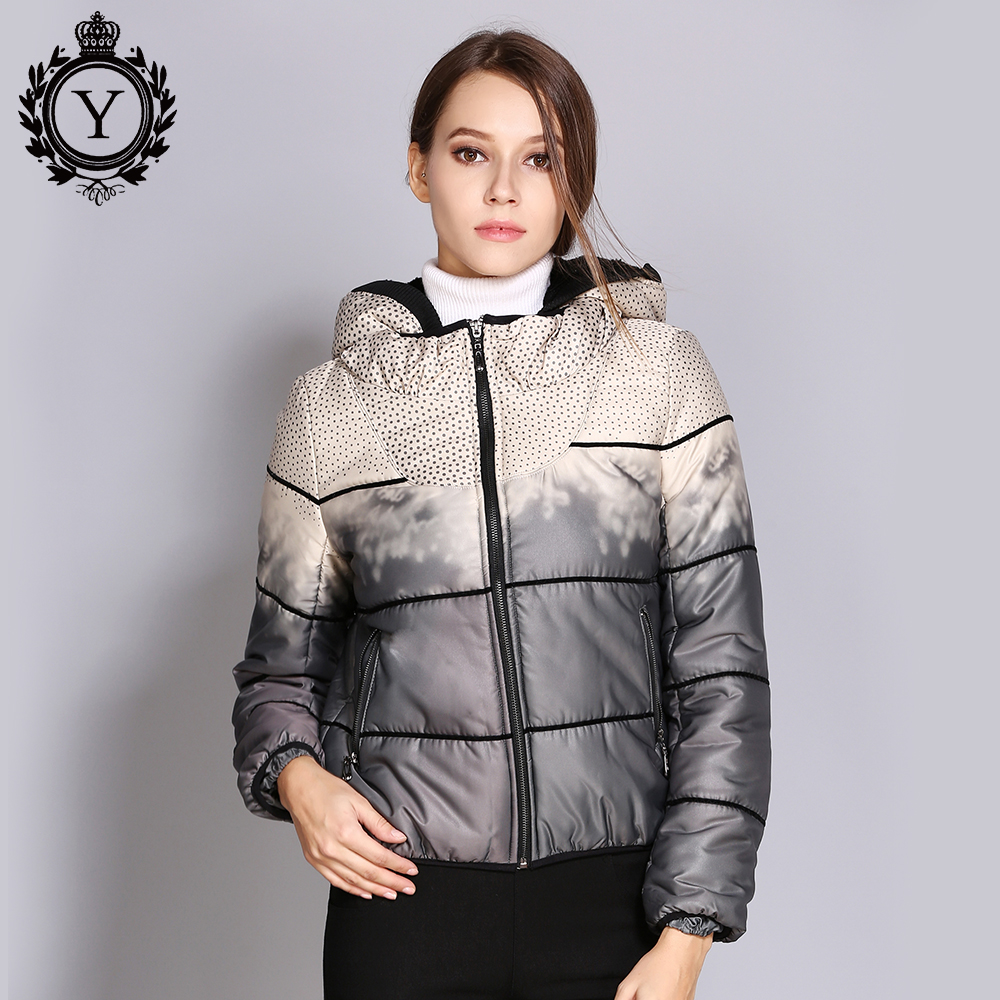 COUTUDI   Down   Jackets Women 2018 Short Brand Duck   Down     Coat   with Warm Hooded Slim Woman Parka Jacket Fashionable Outwear   Coats