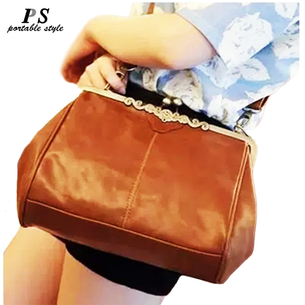 купить New Casual Leather Women Handbags Vintage Hotsale Ladies Small Shopping Fashion Bag Shoulder Messenger Crossbody Bags Brand по цене 964.2 рублей