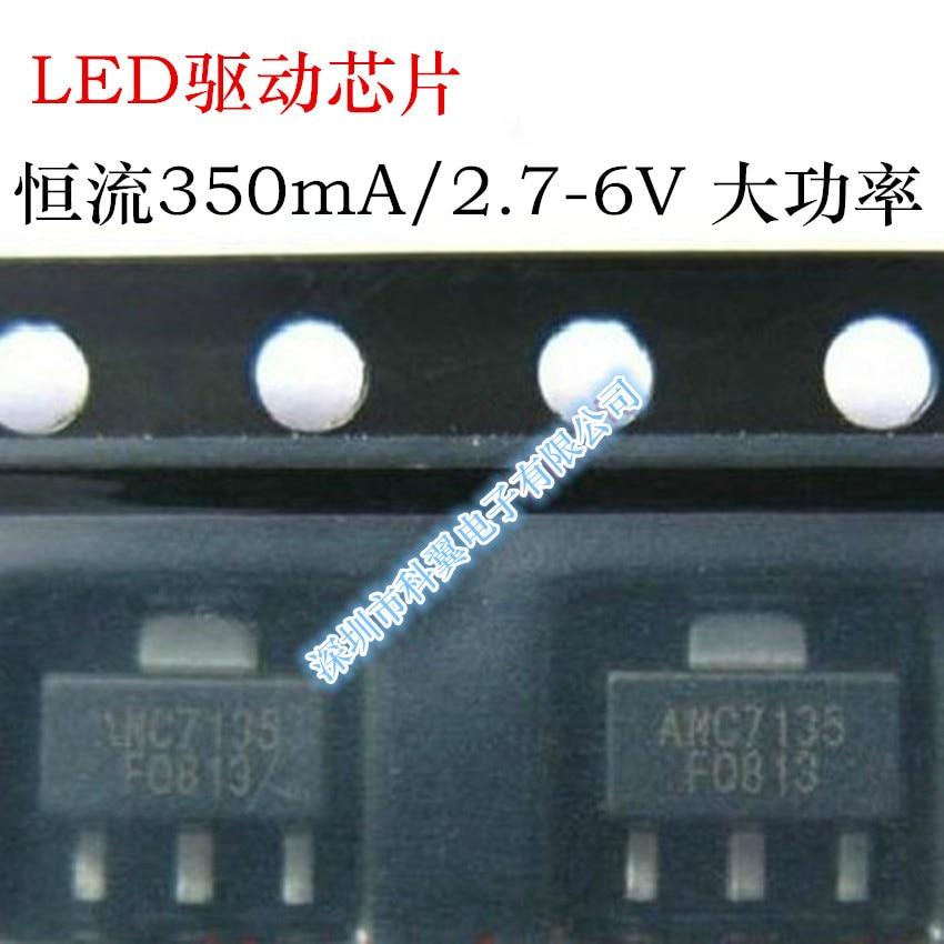 2.7-6v Led Driver P New Original Active Components Spirited Free Shipping 10pcs/lot Chip L7135 Amc7135 Constant 350ma