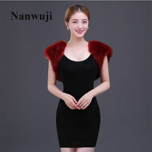 New 2015 Wholesale Faux Fur Wedding Bridal Wrap Shawl Wedding Jackets / Wrap Coat Bolero цены