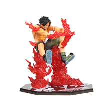 Portgas D Ace Scultures New World Battle version Action Figures 14cm