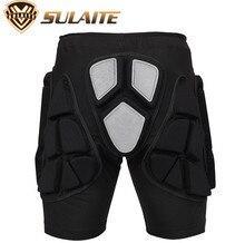SULAITE 2.2cm Thickening EVA Padded Hip Protective Shorts Outdoor sport Ski Skateboard Snowboarding Butt Tailbone Protector