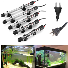 25W/50W/100W /200W/300W 220V Aquarium Submersible Fish Tank Automatic Water Heater EU/US Plug Constant Temperature Heating Rod free shipping kde16ea3 kde19ea3 preheating plug glow plug heating rod heater plug warm up preheat heating heat suit for kipor