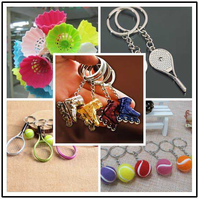 Roller Skates Shoes Keychain Bag Pendant Mini Skates Shoes Key Rings Trinkets Skating Sports Souvenir Key Chain School Gifts