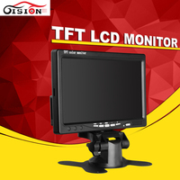 2Ch Video 7 TFT Color LCD Monitor HD 800 X 480 Car Auto Reverse Camera Monitor