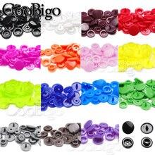 100 наборов, круглые пластиковые кнопки T5(12 мм), застежки, пододеяльник, простыня, кнопки, аксессуары для одежды, зажимы для детской одежды