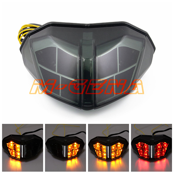 2012 2013 2014 smoke lens original brand scooter part brake light for 848S 1100 12 13 14 motorbike LED motorcycle tail light