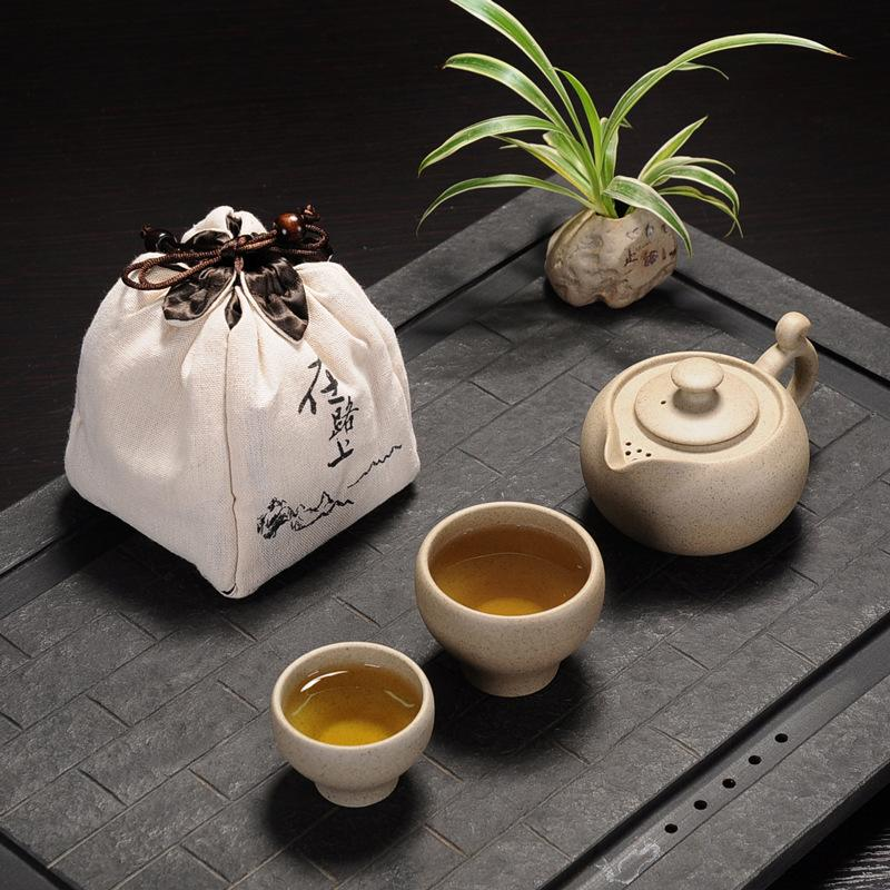 Modern Coarse Pottery Chinese Style Kung Fu Ceramic Teapot Gaiwan Cup Classic Tea Cup Teaware Office Household Tea AccessoriesModern Coarse Pottery Chinese Style Kung Fu Ceramic Teapot Gaiwan Cup Classic Tea Cup Teaware Office Household Tea Accessories