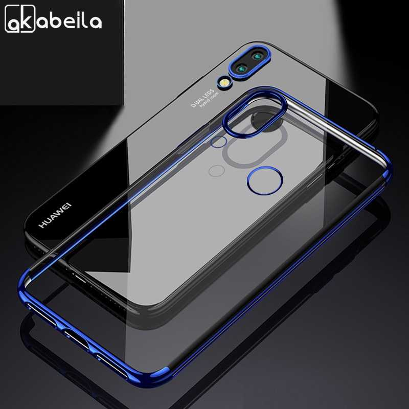 Soft Honor 8X Case For Huawei Honor 8X Max Cases Silicone Plated Clear Fundas For Huawei Honor 8C 8 Honor8 FRD-L19 Cover Coque