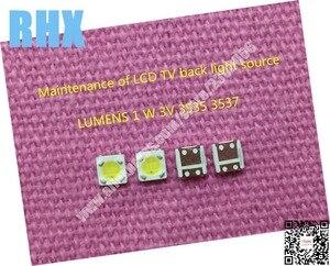 Image 2 - 260 sztuk/partia 100% nowy do naprawy lumenów podświetlenie LED 2.4W 3V 3535 3537 fajne białe podświetlenie LCD zimny biały