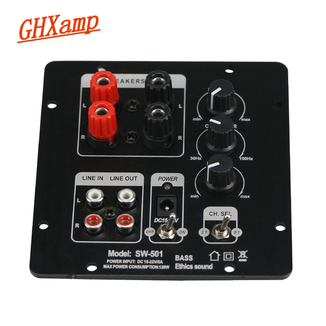 Ghxamp 2.1 Subwoofer Speaker Amplifier Board TPA3118 Audio 30W*2 +60W Sub AMP With Independent 2.0 Output