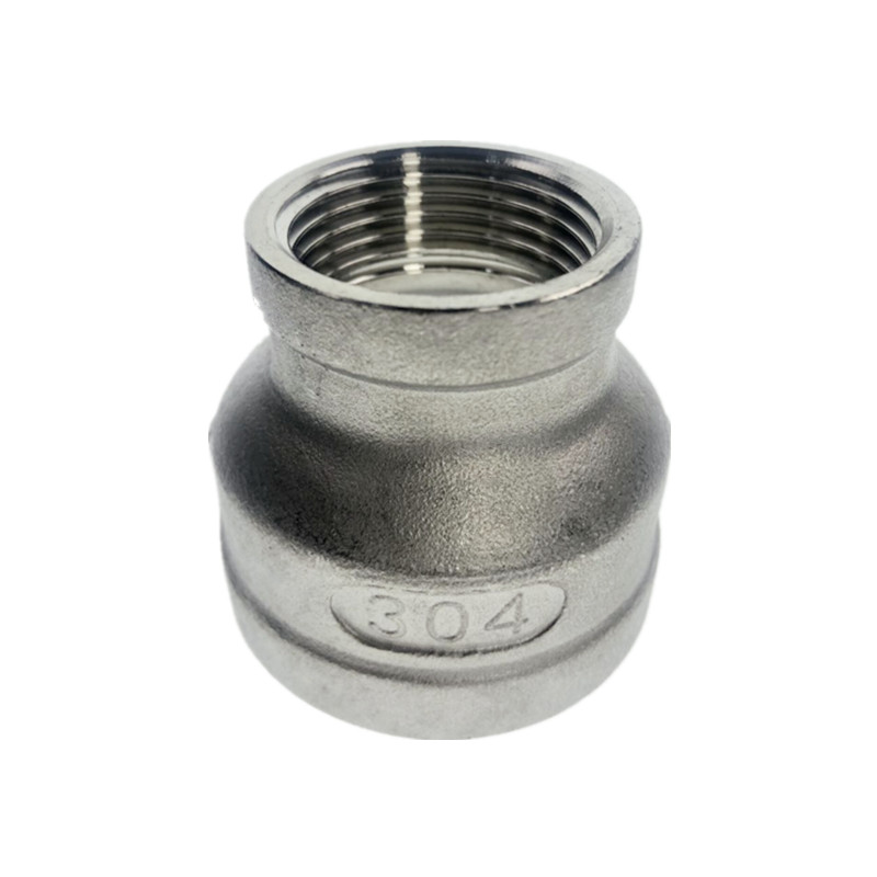 Female Nipple Threaded Reducer Pipe Fitting Steel SS304 Stainless Steel