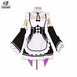 New-Anime-Re-Life-In-A-Different-World-From-Zero-Rem-Ram-Black-And-White-Lovely