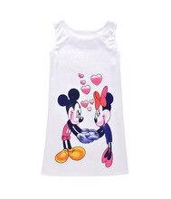 Summer Girls Children Elsa Dress For Big Vestidos Infantil Party Sleeping Princess Kids Clothing