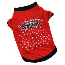"""Beautiful """"It's raining love"""" yorkie shirt design"""