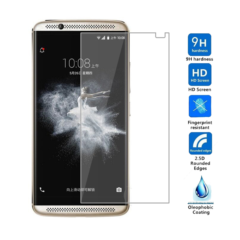 High Quality For ZTE AXON 7 Tempered Glass For ZTE AXON 7 Max Glass Screen Protector ZTE Axon 7 Mini 0.26mm Glass Film