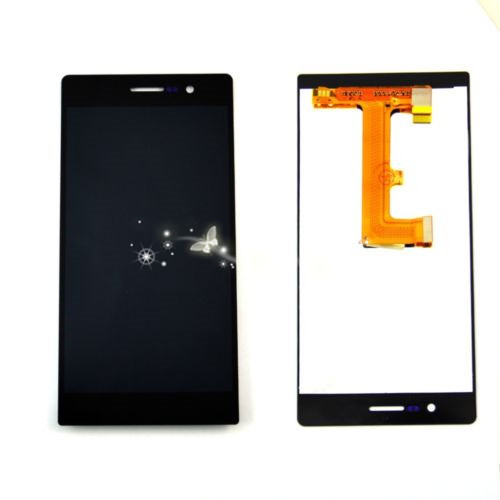A LCD Display+Touch Screen Digitizer Assembly For Huawei Ascend P7 Replacement free shipping