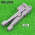 KELUSHI Ideal 45-162 Coaxial Cable Stripper Fiber Optic Stripper Transverse Beam Tube Open and Stripping Knife Loose Casing