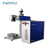 Pulse fiber laser metal cnc laser graver machine 20w laser source