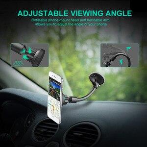 Image 4 - Mpow MCM13 Einstellbare Magnetische Auto Telefon Halter Grip Universal Auto Halterung Ständer Mit Metall Platte für iPhone Samsung Huawei Xiaomi