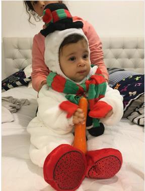 Χριστουγεννιάτικο δώρο ζεστό μωρό - Παιδικά ενδύματα - Φωτογραφία 6