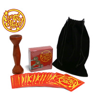 Gold Wood Token Jungle Speed Board Game For Party Fun Cards