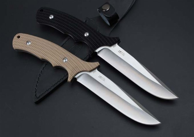Buy 2 Options ZT 0170 Hunting Fixed Knife 9Cr18Mov Blade G10 Handle Camping Knife Survival Knife Outdoor Rescue Tools cheap