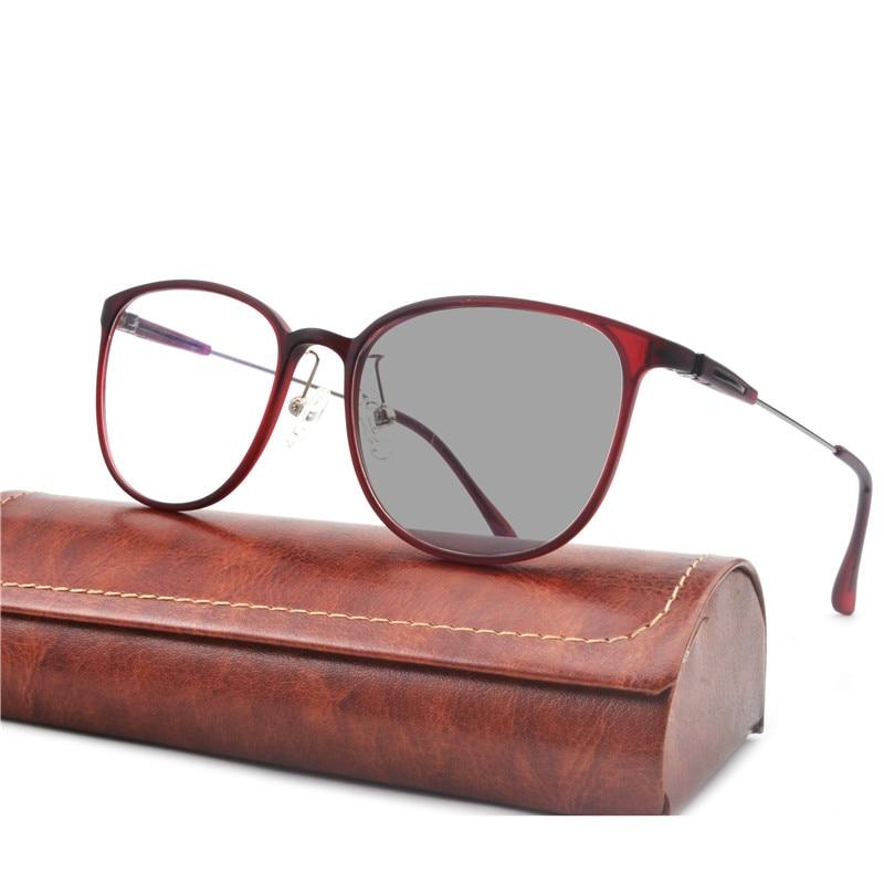 Sunglasses Transition Multifocal Diopters Progressive Presbyopia Photochromic Men