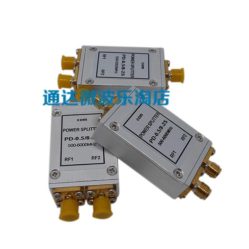 все цены на 500M-6G RF Power Divider, WIFI, SMA, One Point to Two High Frequency Two Power Divider, Distributor Splitte онлайн