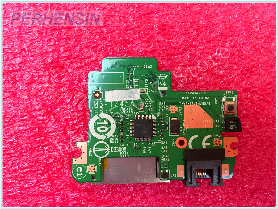FOR MSI FOR MS-1245 MS-12451 SD READER WLAN BOARD MS-1245A ssk scrm 060 multi in one usb 2 0 card reader for sd ms micro sd tf white