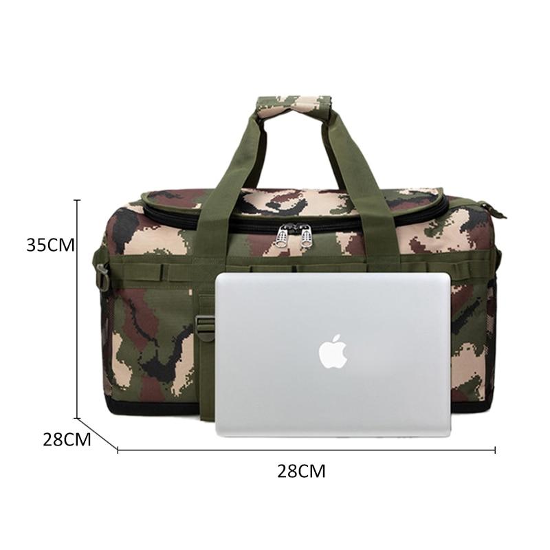 Men Gym Bag Backpack Tactical Military Rucksack Molle Army Bags Women Large Capacity Travel Duffe Camping Mochila Sport XA774WA