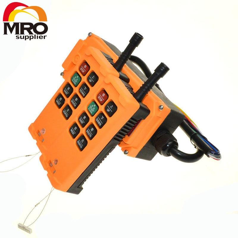 OHOBOS 2 Transmitters 8 Channels 1 Speed Truck Hoist Crane Winch Radio Remote Control System Controller XH00021 10 channels 1 speed 2 transmitters hoist