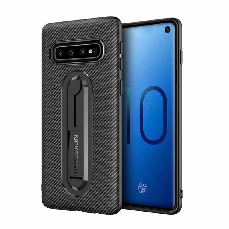 Carbon Fiber Silicone Cover For Samsung S10 S9 S8 Plus S10e S7 A6S A7 A8 A9 2018 Soft TPU Armor Shockproof Phone Case