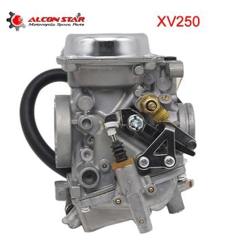 Alconstar- 26mm Motorcycle Carburetor Carburedor Carb For Yamaha Virago XV250 Route 66 Virago XV125 V-star 250 Engine Replace