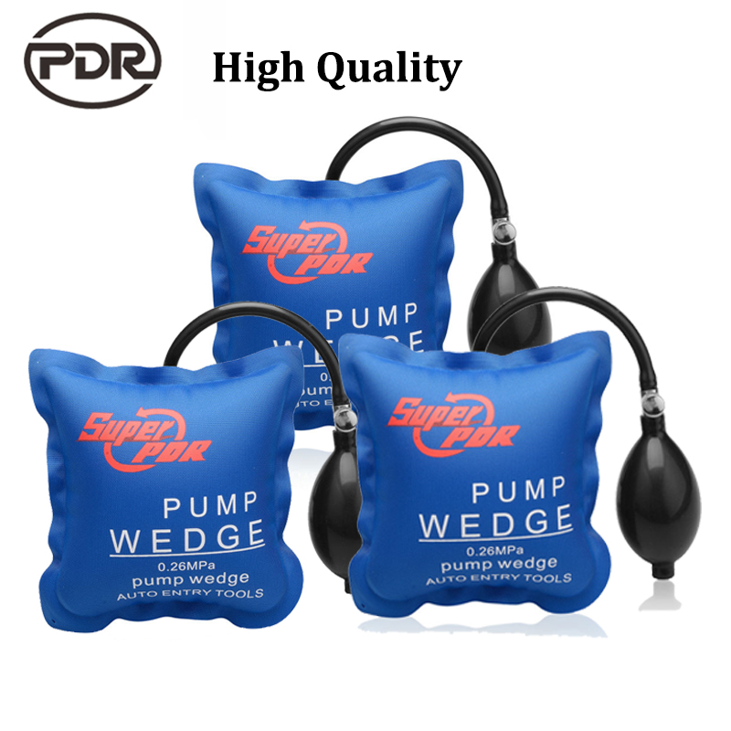 Super PDR Air Wedge Pump Up Bag Inflatable Automotive Hand Tools For Door Window