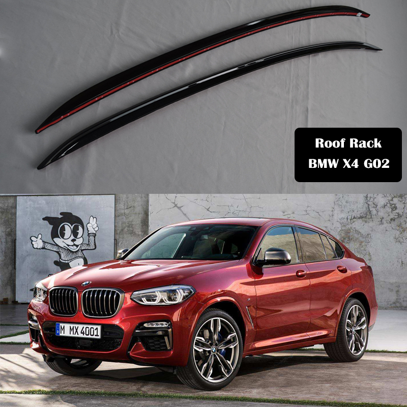 Aluminum Alloy Roof Rack For Bmw X4 G02 2018 2019 2020 Rails Bar Luggage Carrier Bars Top Cross Bar Rack Rail Boxes Roof Racks Boxes Aliexpress