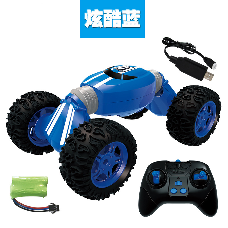 Tipper Car Model Remote Control Off road Stunt Twist High speed Vehicle Deformation Torque Four wheel Drive Climbing Car Toy2.4g-in RC Cars from Toys & Hobbies
