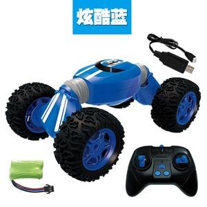 Image 1 - チッパー車モデルリモコンオフロードスタントツイスト高速車両変形トルク四輪駆動クライミング車Toy2.4g