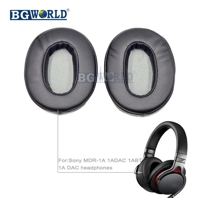 3c00df5a92c BGWORLD Replacement soft Cushion ear pads sponge earpads earmuff foam for  Sony MDR-1A 1ADAC 1ABT 1A DAC headphones headset part