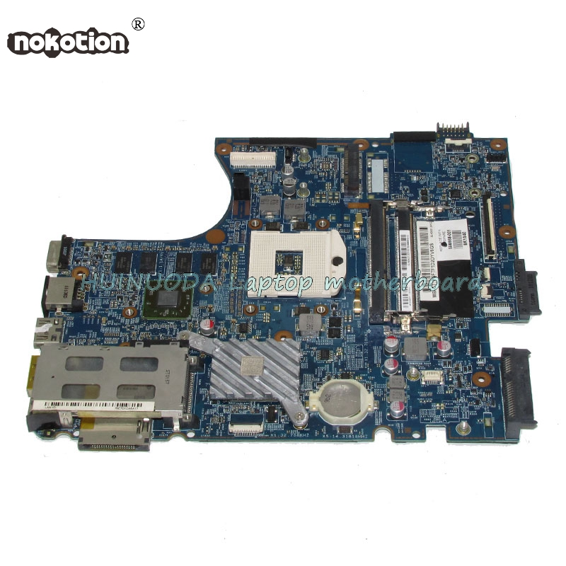 NOKOTION 633552-001 598668-001 628794-001 Laptop mainboard For hp probook 4720S 4520S Notebook pc Motherboard 48.4GK06.041 original 654308 001 laptop motherboard for hp 4535s 4545s notebook pc mainboard 90days warranty 100
