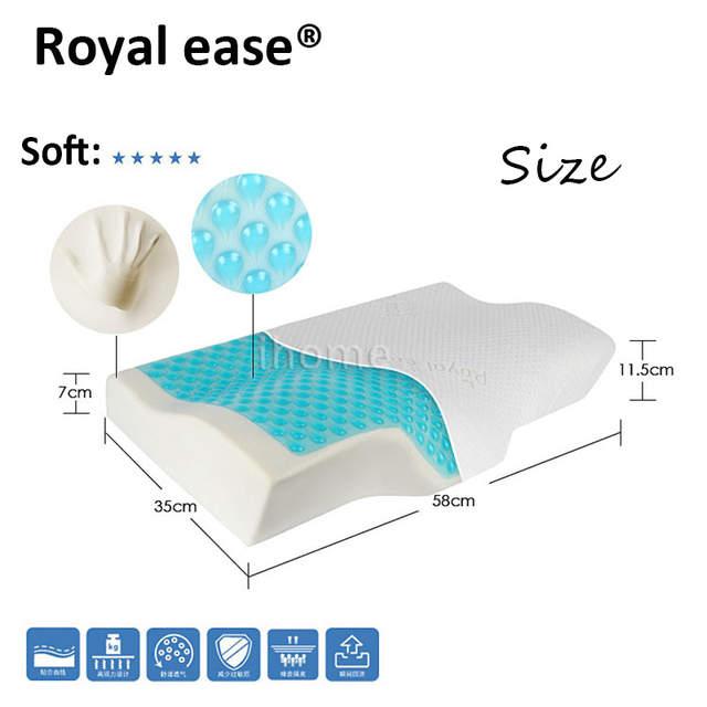 Online Shop High Quality Cervical Orthopedic Gel Cooling Pillow