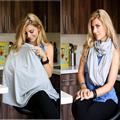 Nursing Scarf For Breastfeeding By Consider It Maid - 100% Cotton , Soft, Lightweight & Breathable Material