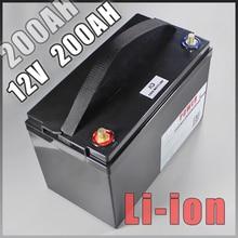 12 В 200ah литий-ионный Батарея для ИБП светодиодные фонари солнечный Гольф автомобильные аккумуляторы