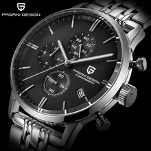 PAGANI DESIGN Brand Luxury Multifunction Men Watches stainless steel Fashion  Sport Military Quartz Watch Relogio Masculino 2020