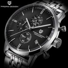 Relojes PAGANI de diseño de lujo multifunción de acero inoxidable para hombre, reloj de cuarzo deportivo militar a la moda, reloj Masculino 2020