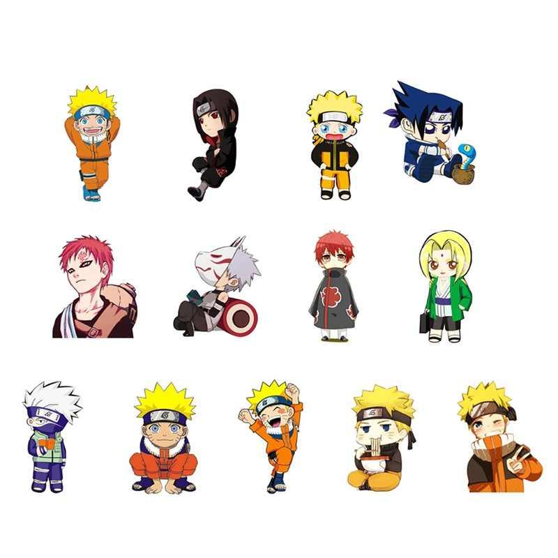 1 PC Acrylic Bros Kartun Anime Naruto Sasuke Kakashi Bros Ransel Mahasiswa Pakaian Bros Tas Dekorasi Bros Lencana