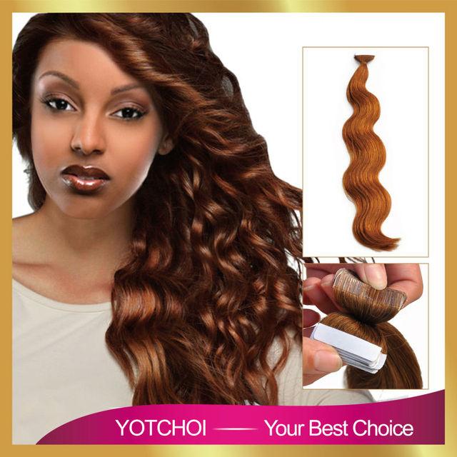 Yotchoi Pu Tape Hair Extensions Ash Blonde Colour 27 18 24 Double