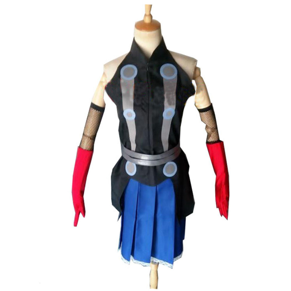 2017 Marvel's The Avengers Thor Age of Ultron Cosplay Costume Customized Thor Female Costume
