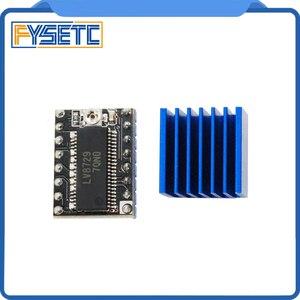Image 3 - Piezas de impresora 3D, 20 unids/lote, controlador de Motor paso a paso LV8729, módulo de Controlador Ultra silencioso PCB de 4 capas Compatible con Lerdge