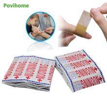 20pcs/100pcs Band Aid Wound Dressing Sterile Hemostasis Stickers First Aid Bandage Emergency Kit Adhesive Medical Plaster new badnage medical burn dressing bandage triangular first aid kit wrap bandage fracture fixation emergency bandage wound care